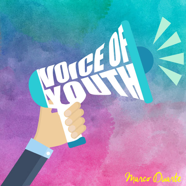 """Voice of Youth"" graphic"
