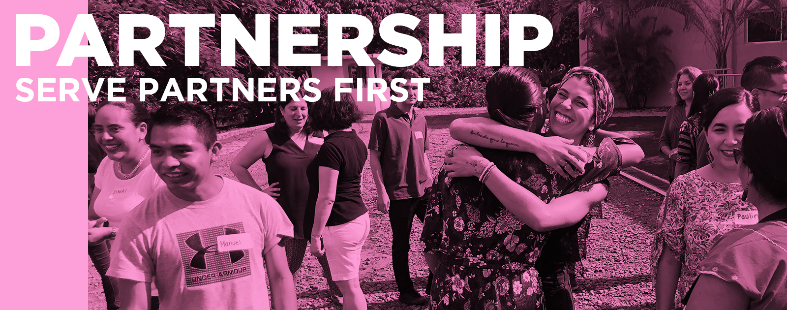 Partnership: Serve partners first