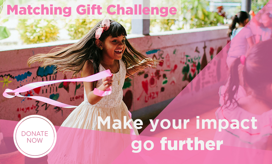Matching Gift Challenge. Make your impact go further. Donate now.