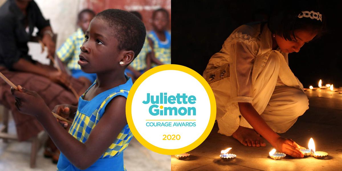 Juliette Gimon Courage Awards 2020