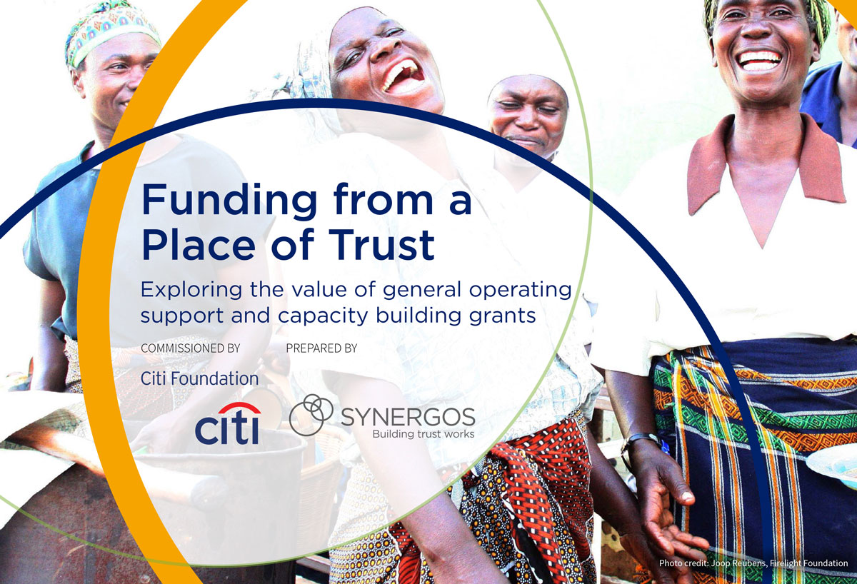 Funding from a Place of Trust