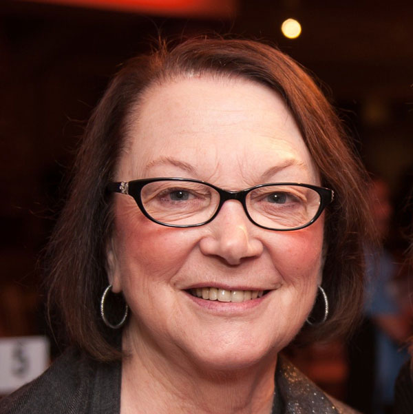 A photo of former GFC Board member Joan Platt.