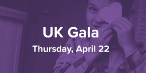 UK Gala: Thursday, April 22