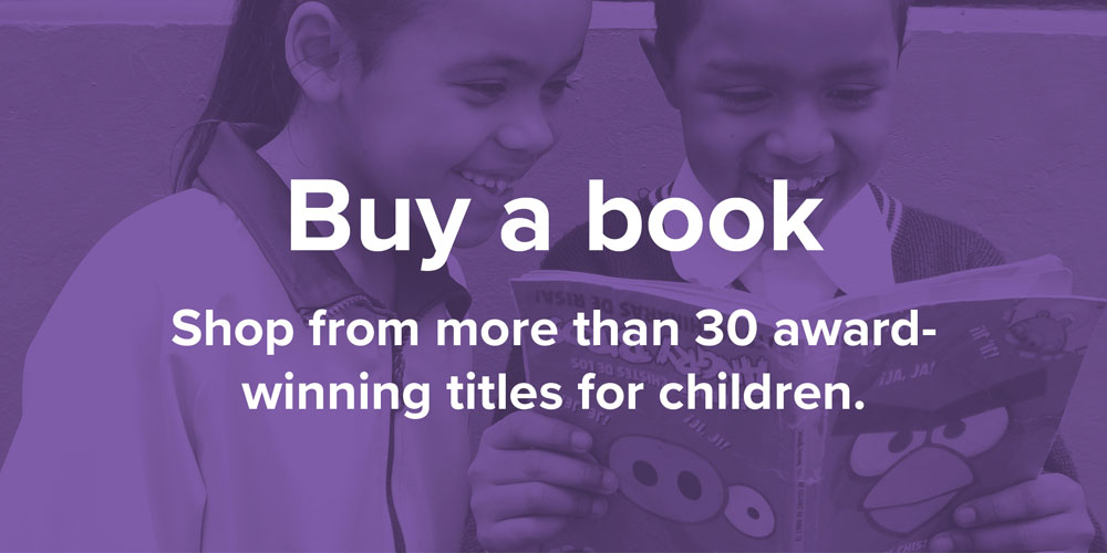 Buy a book. Shop from more than 30 award-winning titles for children.