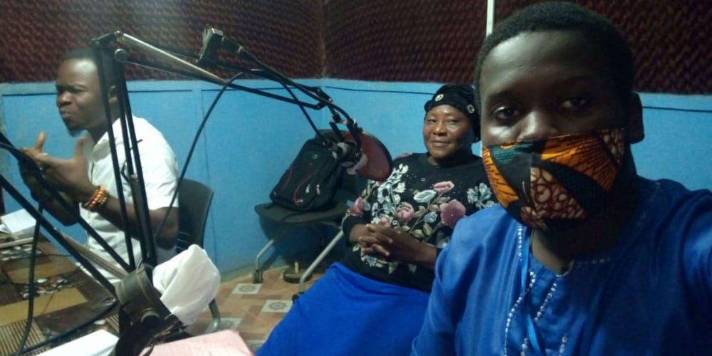 Participants in a CFN radio program.