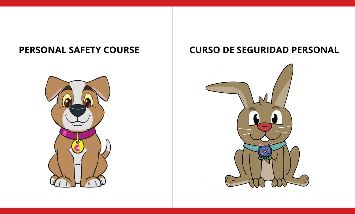 Drawings for the child safety course